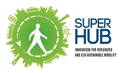 SUPERHUB project logo